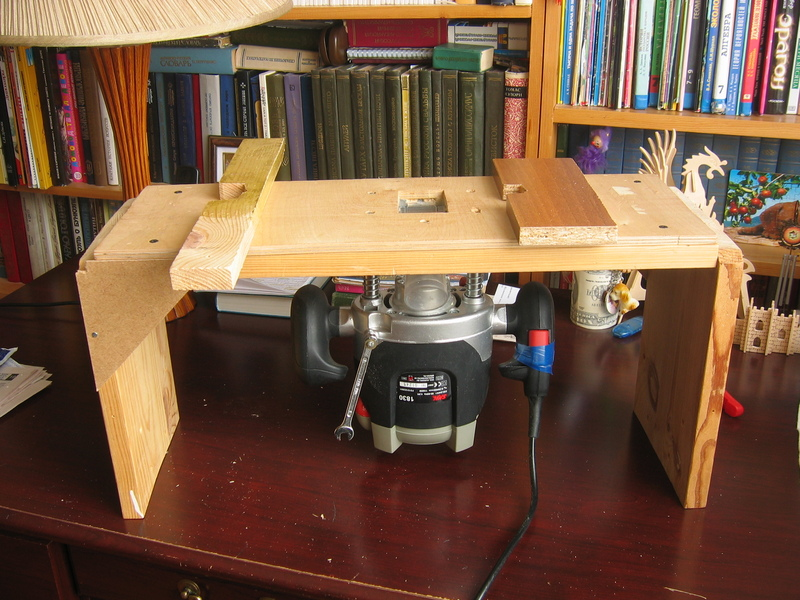Как сделать стол для ручного фрезер 188