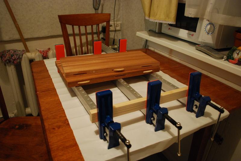 Изготовление мебельного щита своими руками 14
