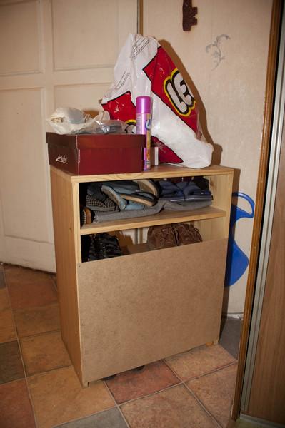 Как сделать шкаф из коробок фото